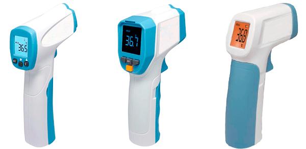 termometros infrarrojos de precision