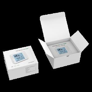 medidor de co2 MT-CO2-1200P paquete